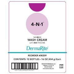 MON821215EA - Dermarite - 4-In-1® Rinse-Free Body Wash (209)