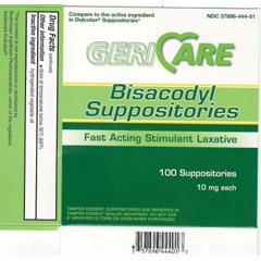 MON23012712 - McKessonLaxative Suppository 100 per Box 10 mg Strength Bisacodyl