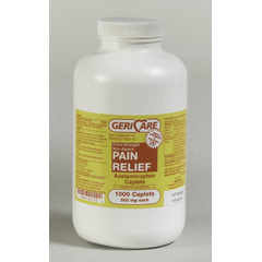 MON23052712 - McKessonPain Relief 500 mg Strength Caplet 1000 per Bottle