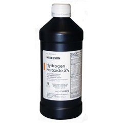 MON23122700 - McKessonHydrogen Peroxide 3% 16 Ounces Bottle