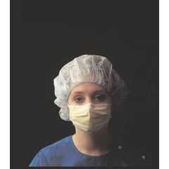 MON23351110 - Busse Hospital DisposablesProcedure Mask Pleated Earloops One Size Fits Most, 50EA/BX 10BX/CS