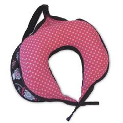 MON23448200 - The Boppy CompanyTravel Nursing Pillow Boppy® 8-1/2 X 20 X 9 Inch Olivia Dots Reusable, 2EA/CS