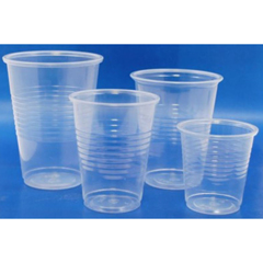 MON23581201 - McKesson - Drinking Cup 7 oz. Clear Plastic Disposable, 100/SL