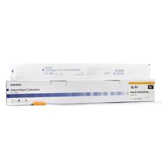 MON1020819EA - McKesson - Urethral Catheter McKesson Coude Tip PVC 16 Fr. 16 Inch
