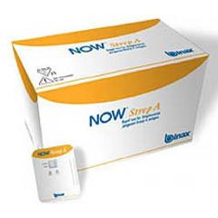 MON572399KT - Alere - Rapid Diagnostic Test Kit BinaxNOW® Immunochromatographic Assay Strep A Test Throat / Tonsil Saliva Sample CLIA Waived 25 Tests