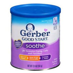 MON24012600 - Nestle Healthcare NutritionInfant Formula Gerber® Good Start® Soothe