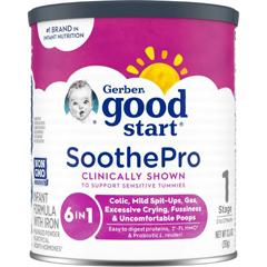 MON24012601 - Nestle Healthcare NutritionInfant Formula Gerber® Good Start® Soothe 12.4 oz.