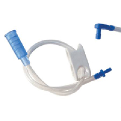 MON24024600 - Applied Medical TechnologiesRight Angle Feeding Set with Y-Port AMT 24 Fr.