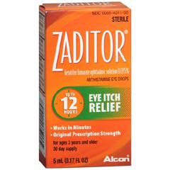 MON24092700 - AlconZaditor® Antihistamine Eye Drops