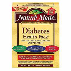 MON24282700 - PharmaviteDiabetes Health Pack Vitamins Nature Made Packet 30 per Box