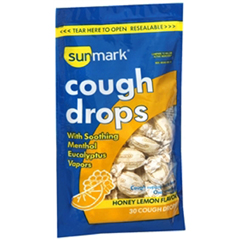 MON24332700 - McKessonCough Relief sunmark 9.1 mg Strength Lozenge 30 per Bag