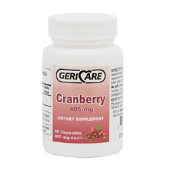 MON24442700 - Geri-CareCranberry Supplement 405 mg Strength Caplet 60 per Bottle