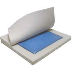 MON24484300 - Hudson IndustriesSeat Cushion Pressure Eez® Gel Foam® 16 X 18 X 2 Inch Gel / Foam, 4EA/CS