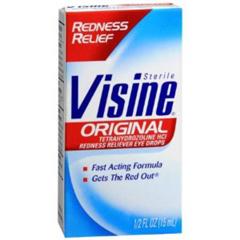 MON24572700 - Johnson & JohnsonVisine® Antihistamine Eye Drops .5 oz.