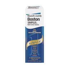 MON24672700 - Bausch & LombContact Lens Solution Boston Simplus 3.5 oz.