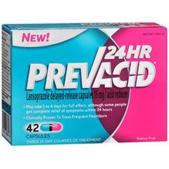 MON25072700 - McKessonAntacid Prevacid® 24 HR 42 per Box Capsule