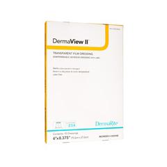 MON714363EA - Dermarite - DermaView II™ Transparent Film Dressing with Border (00252E)