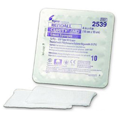 MON513052PK - Cardinal Health - Curity AMD Antimicrobial Dressing 4 x 4 Sterile