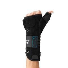 MON25353000 - OssurThumb Brace Form Fit® Universal Thumb Felt Right Hand Black One Size Fits Most