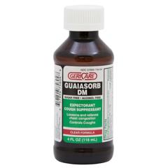 MON25392712 - Geri-CareCough Relief 10 mg / 100 mg Strength Liquid 4 oz.