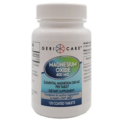 MON25452700 - Geri-CareAntacid 400 mg Strength Tablet 120 per Bottle