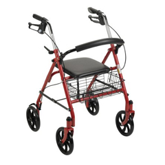 MON25713801 - McKesson - 4 Wheel Rollator (146-10257RD-1)