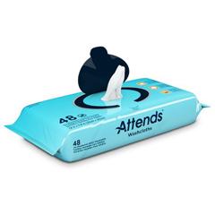 MON25753100 - AttendsPre-Moistened Washcloths