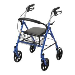 MON25763801 - McKesson4 Wheel Rollator (146-10257BL-1)