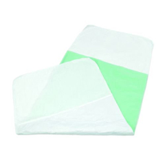 MON1088712BG - Abena - Reusable  Underpad with Tuckable Flaps, 30 X 72, Super Absorbent Core, Moderate Absorbency