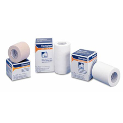 MON25962036 - BSN Medical - Elastic Adhesive Bandage Tensoplast 4 Inch X 5 Yard Medium Compression No Closure White NonSterile, 36 EA/CS
