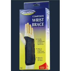 MON26063000 - DJO - Wrist Brace Composite Palmar Stay Right Hand Black Large