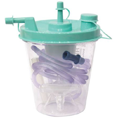 MON26073900 - Sunset HealthcareSuction Canister Kit 800 cc Leak-free Seal