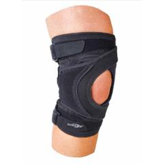 MON26163000 - DJOKnee Brace Tru-Pull Lite® 2X-Large Strap Closure 26-1/2 to 29-1/2 Inch Circumference Left Knee