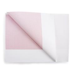 MON26422500 - McKesson - ECG Recording Paper 8-1/2 x 183 Foot Z-Fold