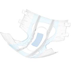 MON26583101 - McKessonAdult Incontinent Brief PrimaGuard Ultimate Super Premium Tab Closure Large Disposable Moderate Absorbency, 18/BG
