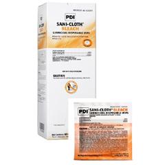 MON26591100 - Professional DisposablesGermicide Sani-Cloth® Bleach Wipe Dispenser Box Disposable, 40EA/BX