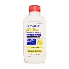 MON26592700 - Major PharmaceuticalsAntacid Mintox 400 mg / 400 mg / 40 mg Strength Liquid 12 oz. (1414275)