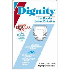 MON26603100 - HartmannDignity® Unisex Cotton/Poly Pull Up Underpants, XL