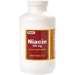 MON26632700 - Major PharmaceuticalsNiacin Supplement Major 500 mg Strength Tablet 100 per Bottle