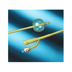 MON26671900 - Bard MedicalFoley Catheter 2-Way Standard Tip 30 cc Balloon 18 Fr. Silicone Coated Latex