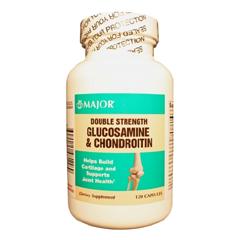 MON26672700 - Major PharmaceuticalsGlucosamine and Chondroitin Supplement Major 500 mg / 400 mg Strength Caplet 120 per Bottle