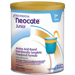 MON26902600 - NutriciaPediatric Oral Supplement Neocate® Junior 1 kcal/ mL Chocolate 400 gm, 4EA/CS