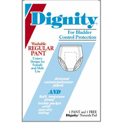 MON26923100 - HartmannDignity® Washable Protective Underwear, Small