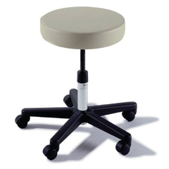MON27013201 - MidmarkExam Stool Ritter 270 Value Series Backless Spinlift Height Adjustment 5 Casters Shadow Grey