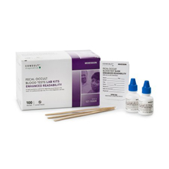 MON1060834BX - McKesson - Rapid Diagnostic Test Kit Consult Colorectal Cancer Screen Fecal Occult Blood Test (FOB) Stool Sample CLIA Waived 100 Tests