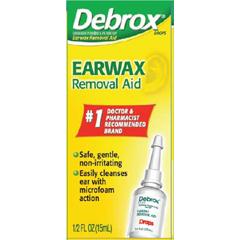 MON27242700 - Glaxo Smith KlineEarwax Removal Aid Debrox 0.5 oz. Drops 6.5% Strength Carbamide Peroxide
