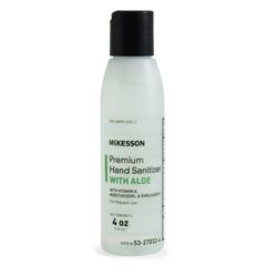 MON27321800 - McKessonPremium Hand Sanitizer with Aloe 4 oz. Ethanol Squeeze Bottle