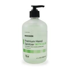 MON27371801 - McKessonPremium Hand Sanitizer with Aloe- 18 oz. Ethanol Pump Bottle