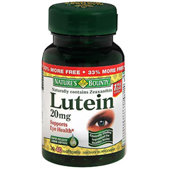 MON1038538EA - US Nutrition - Natures Bounty Lutein Supplement (2741403)