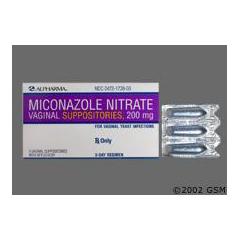 MON27532700 - ActavisAntifungal 100 mg Strength Suppository